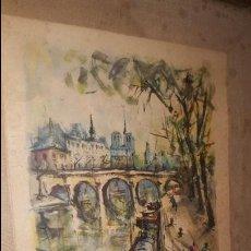 Arte: LA SEINA - GIRARD. Lote 72638519