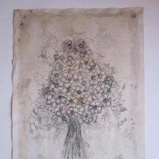 Arte: ANTIGUO DIBUJO O LITOGRAFIA A ESTUDIAR, FIRMADA PEYROT. Lote 73169983