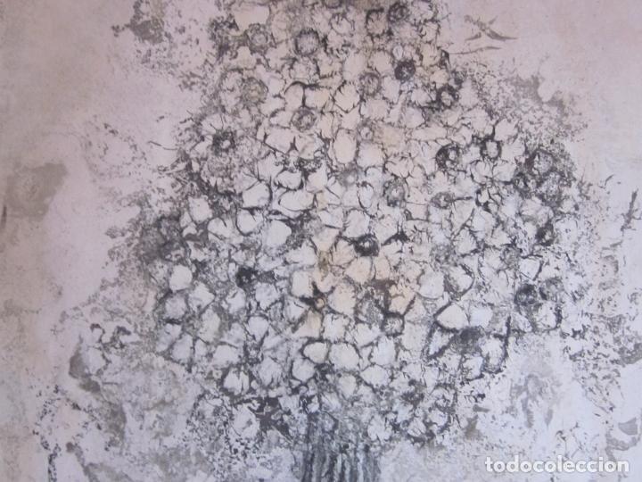 Arte: Antiguo dibujo o litografia a estudiar, firmada Peyrot - Foto 3 - 73169983