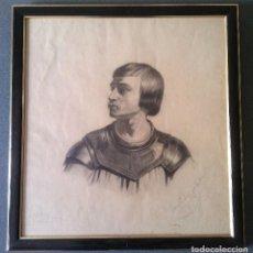 Arte: PINTURA RETRATO MEDIEVAL 1901. Lote 73344711