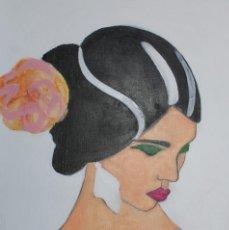Arte: PINTURA SOBRE TABLA DE MADERA. Lote 73687627