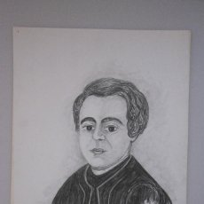 Arte: RETRATO A LAPIZ ORIGINAL M.A. RIUTORT. PEDRO BENNASSAR PASCUAL DE MASSANA, CAMPANET. Lote 73733367
