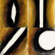 Arte: A. FERRER: ESTRATOS HORIZONTALES (LOTE DE 8 TÉCNICAS MIXTAS). Lote 73782099