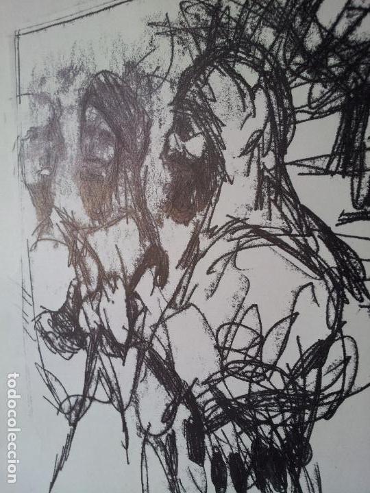 Arte: DIBUJO TECNICA MIXTA SOBRE CALCO..ESCUELA CATALANA 1966 FIRMA A ESCUDRIÑAR..INTERESANTE !!! - Foto 6 - 74077907