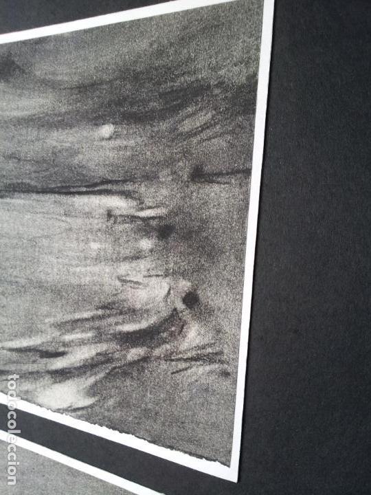 Arte: DIBUJO TECNICA CARBONCILLO..ESCUELA CATALANA AÑOS 60-70 FIRMA A ESCUDRIÑAR..INTERESANTE !!! - Foto 8 - 74079383