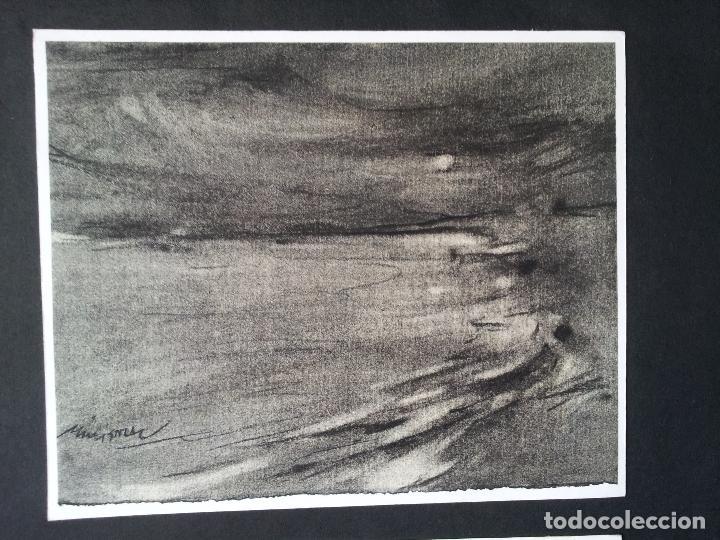 Arte: DIBUJO TECNICA CARBONCILLO..ESCUELA CATALANA AÑOS 60-70 FIRMA A ESCUDRIÑAR..INTERESANTE !!! - Foto 14 - 74079383