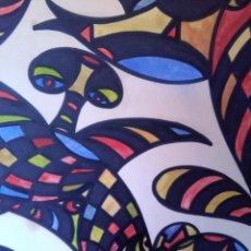 Arte: CUADRO, TEMA ( ABSTRACTO ) FIRMADO. Lote 75709679