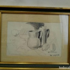 Arte: DIBUJO CUBISTA ISMAEL GONZÁLEZ DE LA SERNA (GUADIX, 1897- PARÍS, 1968), ESCUELA DE PARÍS, ART DECO . Lote 75981563