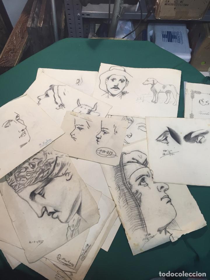 DIBUJOS ANTIGUOS (Arte - Dibujos - Contemporáneos siglo XX)