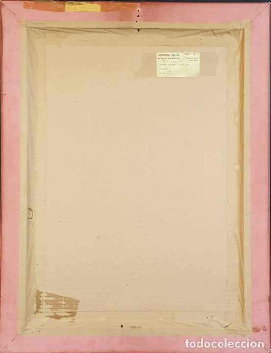 Arte: I1-034. HOMBRE DESNUDO. DIBUJO AL CARBON. FRANCISCO GIMENO ARASA. SIGLO XIX. - Foto 7 - 76593483