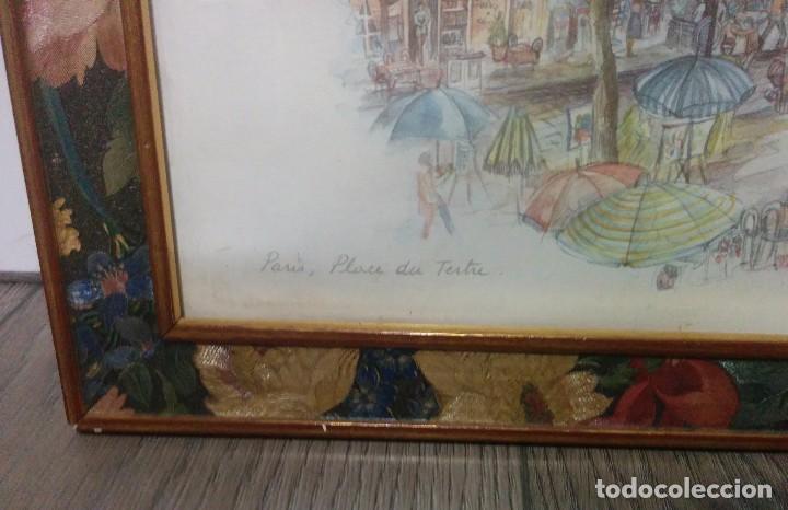 Arte: DIBUJO LAMINA ENMARCADO - Foto 3 - 76625391