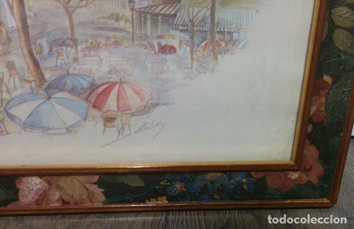 Arte: DIBUJO LAMINA ENMARCADO - Foto 4 - 76625391