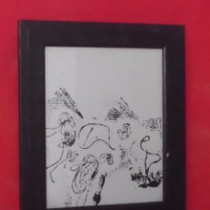 Arte: DIBUJO PICASSO ENERGIA LINEAL TALLER DIDACTIC BANCAIXA. Lote 78439889