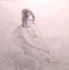 Arte: DIBUJO ORIGINAL DE FÉLIX REVELLO DE TORO (1926). Lote 79673353