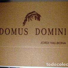 Arte: VALLBONA, JORDI - DOMUS DOMINI - 15 LÀMINES AMB DIBUIXOS NUMERATS I SIGNATS - 125 EX. - ROMÀNIC DEL. Lote 79953385