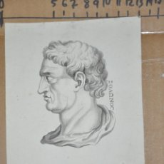 Arte: DIBUJO A LAPIZ , ANTIGUO Y ORIGINAL DEL S. XVIII. Lote 81221532