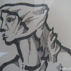 Arte: CUADRO DIBUJO JOSÉ MARÍA PÁRRAGA. Lote 81865800
