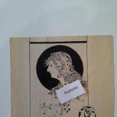 Arte: DIBUJO ORIGINAL MORENO CARRERAS AÑO 1923. Lote 74156483