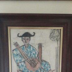 Arte: ATRIBUIDO A JULIO GONZALEZ.DIBUJO AÑO 1930. 40X35 CM. Lote 83312592