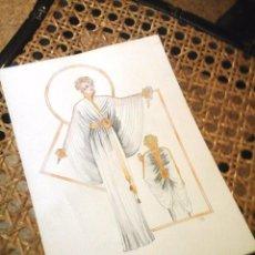 Arte: FIGURIN DE MODA ESTILO ART DECO. Lote 83595740