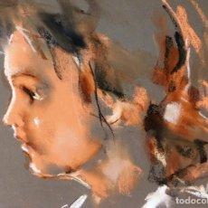 Arte: PROMOCION POR TIEMPO LIMITADO, PRECIOSA Y DECORATIVA PIEZA DE COLECCION JAUME QUERALT PASTEL MUÑECA. Lote 84347000
