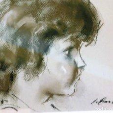 Arte: PROMOCION POR TIEMPO LIMITADO, PRECIOSA Y DECORATIVA PIEZA DE COLECCION JAUME QUERALT PASTEL MUÑECA. Lote 84347740