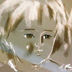 Arte: PROMOCION POR TIEMPO LIMITADO, PRECIOSA Y DECORATIVA PIEZA DE COLECCION JAUME QUERALT PASTEL MUÑECA. Lote 84347996