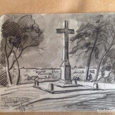 Arte: ANTONIO CASERO. PAISAJE.. Lote 84479440
