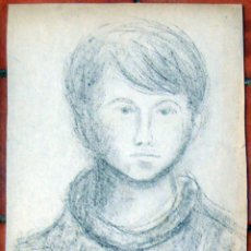 Arte: HENRI BOULAGE PINTOR POST IMPRESIONISTA MONMARTRE PARIS FRANCE FRANCIA LAPIZ. Lote 85458588
