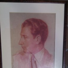 Arte: ADOLFO FERRER AMBLAR (VALENCIA, 1906-1993). AUTORRETRATO. FIRMADO, FECHADO Y TITULADO. CIRCA 1930.. Lote 87008560