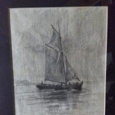 Arte: BAIXERAS I VERDAGUER, DIONÍS (1862 - 1943) PINTOR,DIBUJATE. Lote 87039576