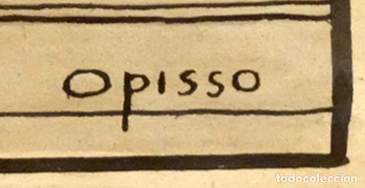 Arte: RICARDO OPISSO I SALA (TARRAGONA, 1880 - BCN, 1966) DIBUJO A TINTA DE TEMA HUMORISTICO - Foto 8 - 220103791