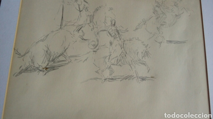 DIBUJO ORIGINAL DE ANTONIO CASERO (Arte - Dibujos - Contemporáneos siglo XX)