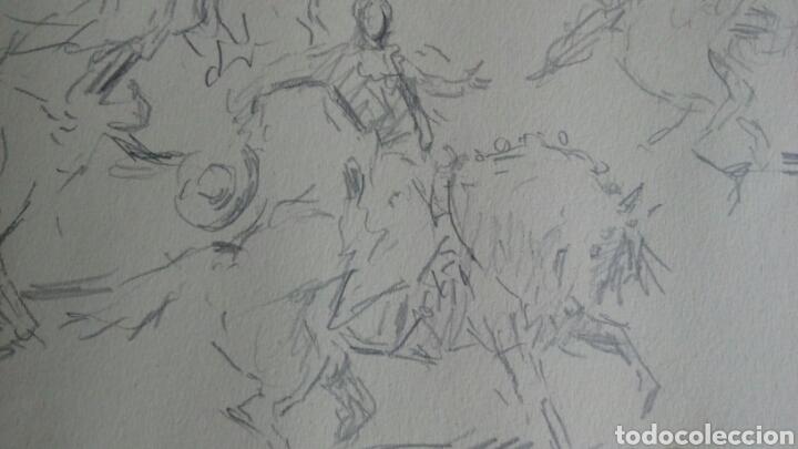 Arte: Dibujo original de ANTONIO CASERO - Foto 2 - 87442244