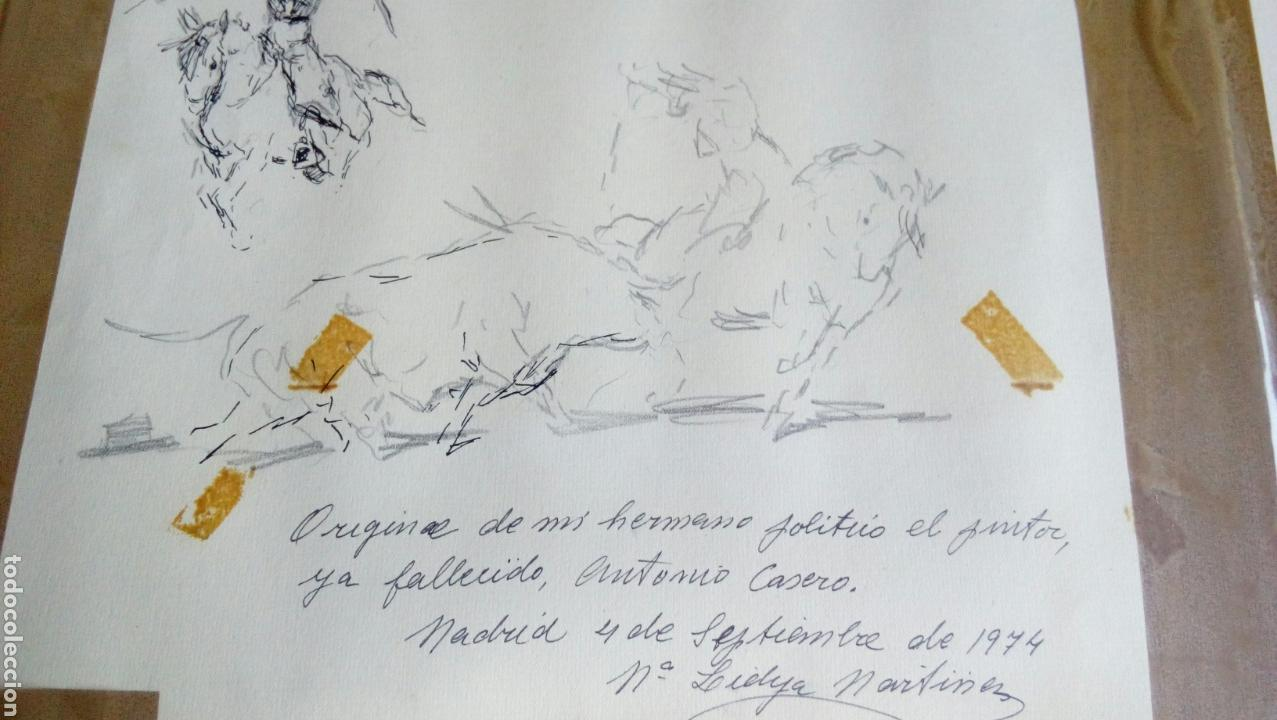 Arte: Dibujo original de ANTONIO CASERO - Foto 6 - 87442244