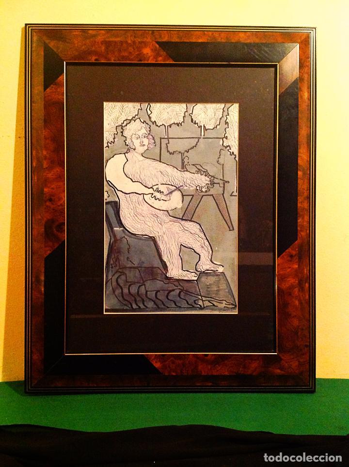 Arte: Cuadro Joan Comellas i Maristany Barcelona 1913 - Barcelona 2000 - Foto 5 - 37713430