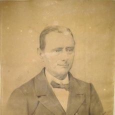 Arte: PAREJA DIBUJOS EDUARDO DE LA VEGA BALANDA, PINTOR GALLEGO, MILITAR Y SEÑORA FIRMADOS FERROL 1898.. Lote 87745972