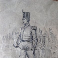 Arte: ESCUELA CATALANA. JOSÉ CUSACHS (COPIA). Lote 146277305