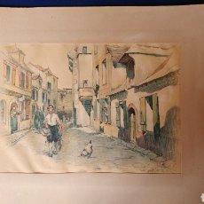 Arte: DIBUJOS DEL S.XIX. DE R BARTA.. Lote 88869315
