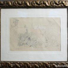 Arte: MIR TRINXET, JOAQUÍN. DIBUJO.. Lote 89348448