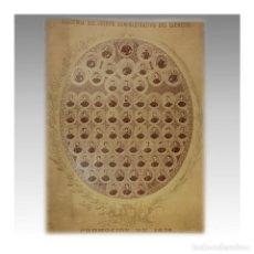 Arte: FOTOGRAFIA PROMOCION DE 1874 ACADEMIA MILITAR - ACADEMIA DEL CUERPO ADMINISTRATIVO. Lote 89331740