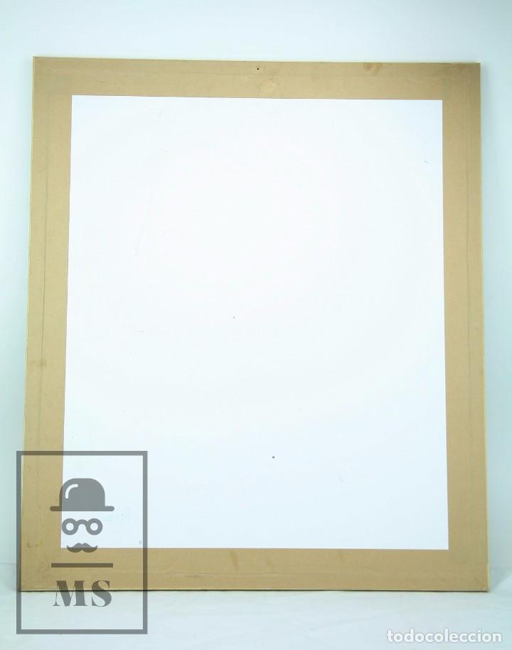 Arte: Dibujo con Ceras / Lápices de Colores Sobre Papel Kraft - La Femme du Docteur - Alejandro, 2001 / 01 - Foto 6 - 90334232