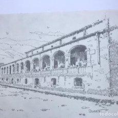 Arte: DIBUJO A LÁPIZ DE JOSÉ DUARTE. . Lote 91013535
