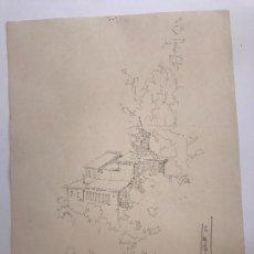Art: DIBUJO A LÁPIZ DE JOSÉ DUARTE.. Lote 91706140