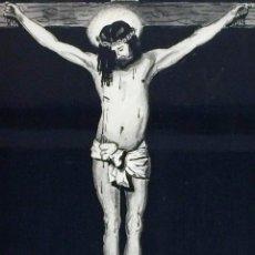 Arte: CRISTO CRUCIFICADO. DIBUJO A LA PLUMILLA. FIRMADO FRANCISCO SEGURA. ESPAÑA. 1939. Lote 91729920