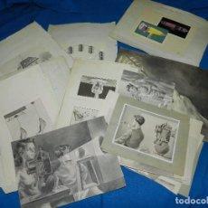 Arte: (M) LOTE DE 46 DIBUJOS ANTIGUOS DE FISICA Y QUIMICA , DIFERENTES TAMAÑOS , AÑOS 20. Lote 91931350