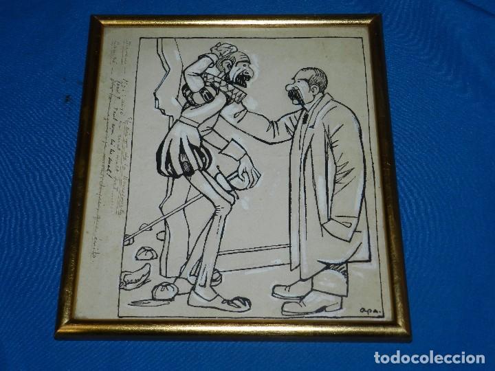 Arte: (M) DIBUJO DE FELIU ELIAS I BRACONS ( APA ) DIBUJO ORIGINAL , DON QUIJOTE DE LA MANCHA - Foto 2 - 93378330