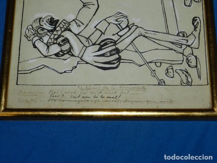 Arte: (M) DIBUJO DE FELIU ELIAS I BRACONS ( APA ) DIBUJO ORIGINAL , DON QUIJOTE DE LA MANCHA - Foto 3 - 93378330