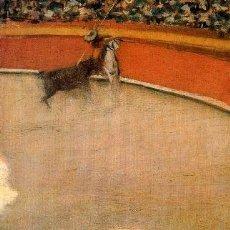 Arte: RAMÓN CASAS. PIEZA DE MUSEO. EL PICADOR. TOROS. MODERNISMO. MODERNISTA. DIBUJO.. Lote 93631445