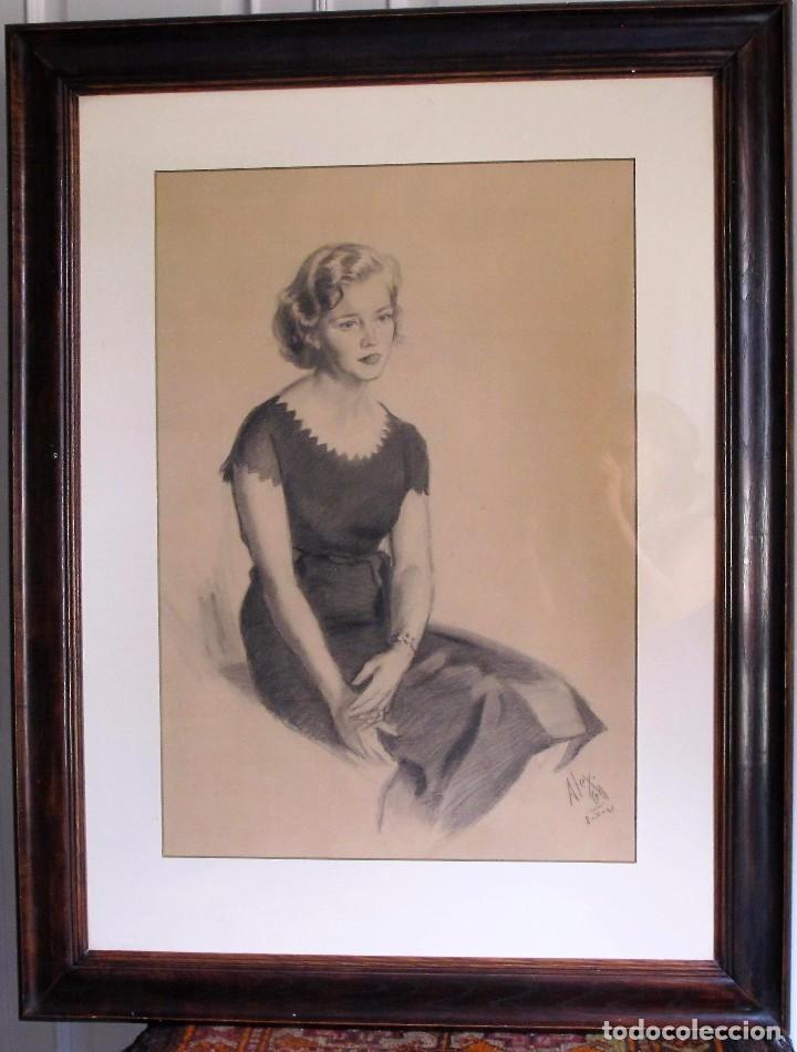 ALEXANDRE COLL BLANCH ( 1898 - 1975) DIBUJANTE, GRABADOR, PINTOR Y ESPECIALMENTE ACUARELISTA. (Arte - Dibujos - Contemporáneos siglo XX)